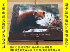 二手書博民逛書店GLIMPSES罕見OF BHUTAN S FOREST BIODIVERSITY(不丹森林生物多樣性)Y17