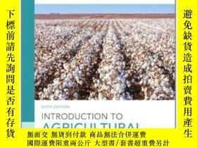 二手書博民逛書店Introduction罕見To Agricultural Economics (6th Edition)-農業經