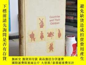 二手書博民逛書店1966年,英文原版,精裝插圖本,countries罕見and