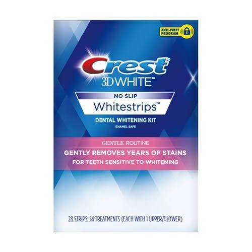 Crest 3D White美白牙貼14片【德芳保健藥妝】