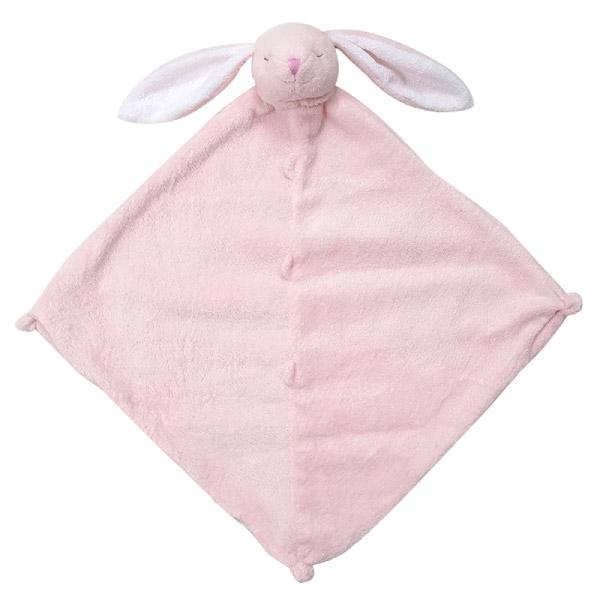 美國Angel Dear 動物嬰兒安撫巾 粉色小兔-新款