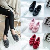 棉鞋女秋冬季新款學生外穿保暖加絨韓版毛毛鞋百搭豆豆鞋冬