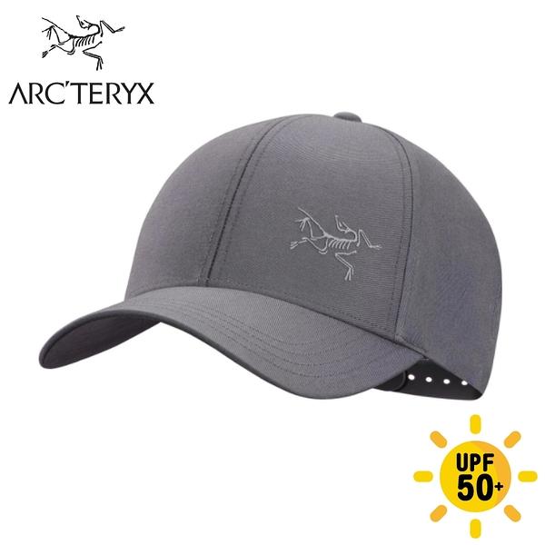 【ARC TERYX 始祖鳥 Bird 棒球帽《機長灰》】25633/鴨舌帽/防曬帽/休閒帽