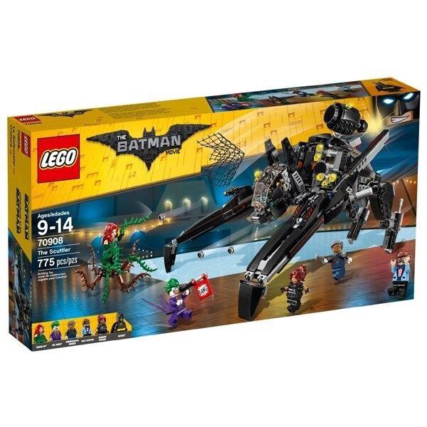 【南紡購物中心】【LEGO 樂高積木】蝙蝠俠電影Batman Movie 系列-蝙蝠疾行者70908