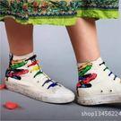 台灣現貨童裝 創意懶人七彩鞋帶 免綁鞋帶 彈性鞋帶(一盒14根)