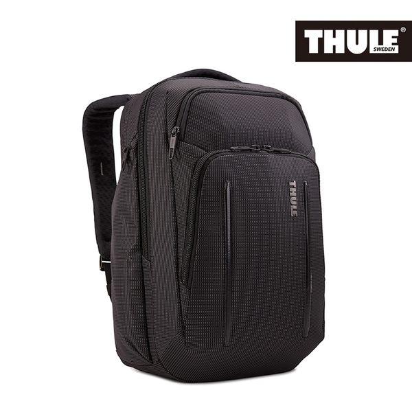THULE-Crossover 2 30L電腦後背包C2BP-116-黑