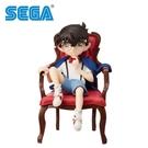 【正版授權】江戶川柯南 坐椅子公仔 公仔 模型 12cm 名偵探柯南 SEGA - 948480
