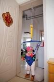 跳跳椅 嬰兒玩具6-12個月益智寶寶彈跳秋千兒童室內健身架0-3歲