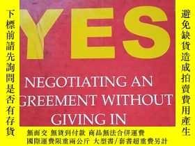 二手書博民逛書店Getting罕見to Yes : The Secret to