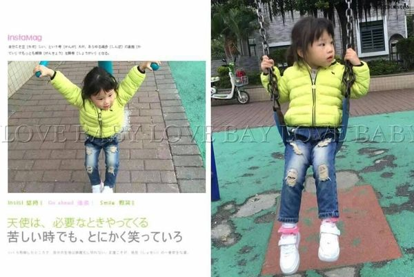 ☆╮寶貝丹童裝╭☆ 【韓版】可愛 素面 小童 男孩 女孩 厚款 防風 輕羽絨 外套 新款 冬天必備款