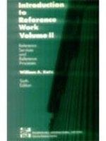 二手書《Introduction to Reference Work: Reference Services and Reference Processes v. 2》 R2Y ISBN:0071126708