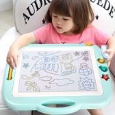 筆彩色小孩幼兒磁力寶寶涂鴉板1-3歲2玩具igo