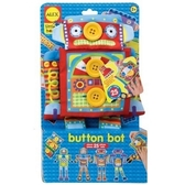 【美國ALEX】1496R  鈕釦玩偶換裝秀-機器人 /組