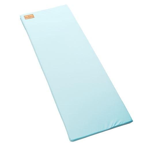 【Mang Mang】小鹿蔓蔓-兒童4cm防護地墊/床邊墊-淺藍*2片[衛立兒生活館]