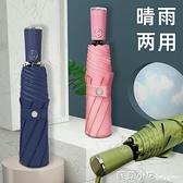 全自動雨傘女晴雨兩用遮陽防曬太陽傘摺疊大號超輕五折傘定制logo 蘇菲小店