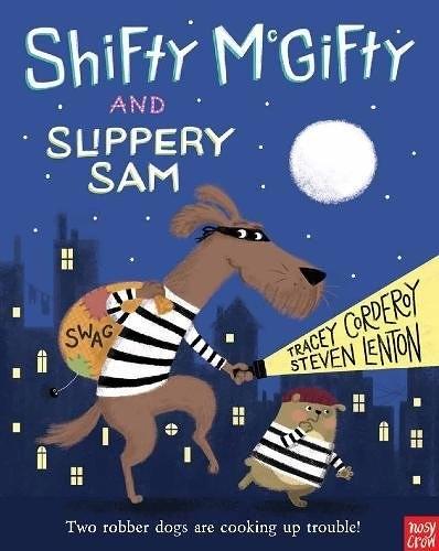 【麥克書店】SHIFTY McGIFTY AND SLIPPERY SAM /平裝繪本《主題:幽默》內附QR code
