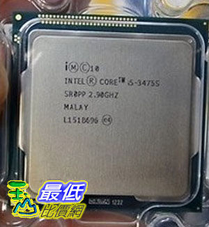 [104 玉山網 裸裝] Intel/英特爾 i5-3475S 2.9G 正式版CPU 22nm 散片 核心顯卡HD4000