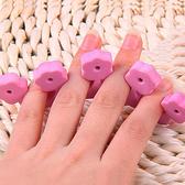 指甲分指棉   (2入組)美甲分指棉 指甲油 指甲分指器 美甲分指棉  【FMD026】-收納女王