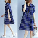 洋裝【L303】FEELNET中大尺碼女...