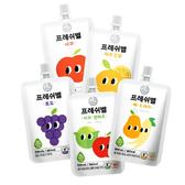 韓國 Freshbell 富樂思貝 寶寶果汁 100ml 非濃縮 蔬果汁 0365 副食品
