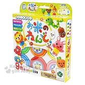 〔小禮堂〕日本銀島 天然米黏土玩具組《9色.動物》兒童玩具.美勞玩具 4973107-46236