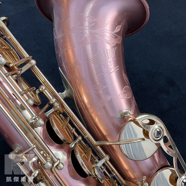 【凱傑樂器】KJ Vi Ning T-920 鍍紅銅 黃銅按鍵 Tenor Sax 次中音薩克斯風