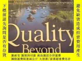二手書博民逛書店英文原版書:Quality罕見Beyond Six Sigma(