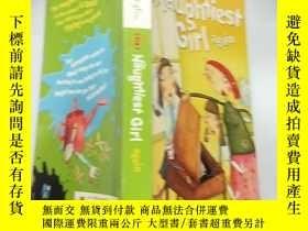二手書博民逛書店the罕見naughtiest girl again 又是最調皮的女 孩Y200392