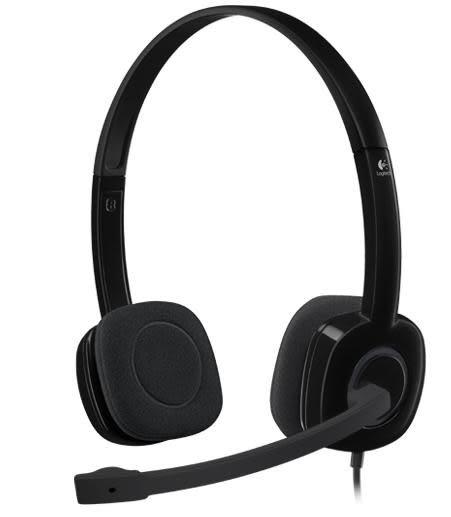 [富廉網] 羅技 Logitech H151 立體聲耳機麥克風