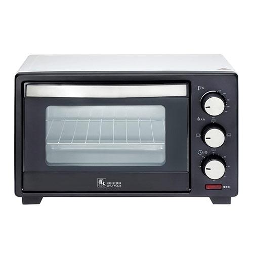 【鍋寶】17L多功能定溫電烤箱 OV-1750-D