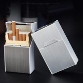 Pr 煙盒 20支裝充電煙盒打火機香菸盒
