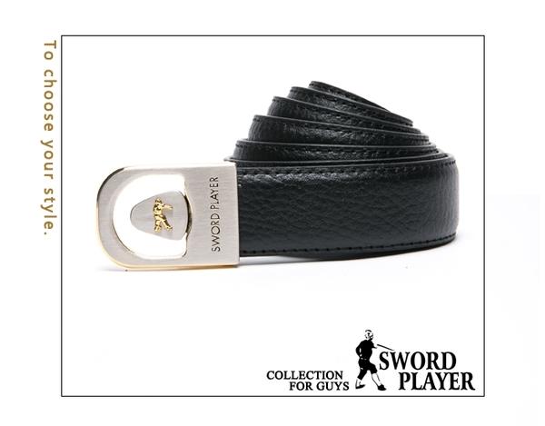 SWORD PLAYER - 莎普爾爵士款皮革珠扣式皮帶