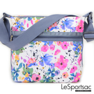 LeSportsac - Small Hobo 小功能月型包 (花卉彩繪) 3709P F965