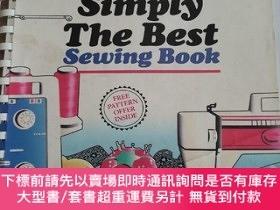 二手書博民逛書店simplicity s罕見Simply The Best Sewing Book 扉頁掉頁Y23470 An
