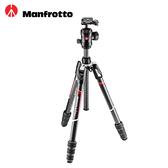 ◎相機專家◎ Manfrotto Befree GT 碳纖維三腳架套組 旋鈕式 MKBFRTC4GT-BH 公司貨