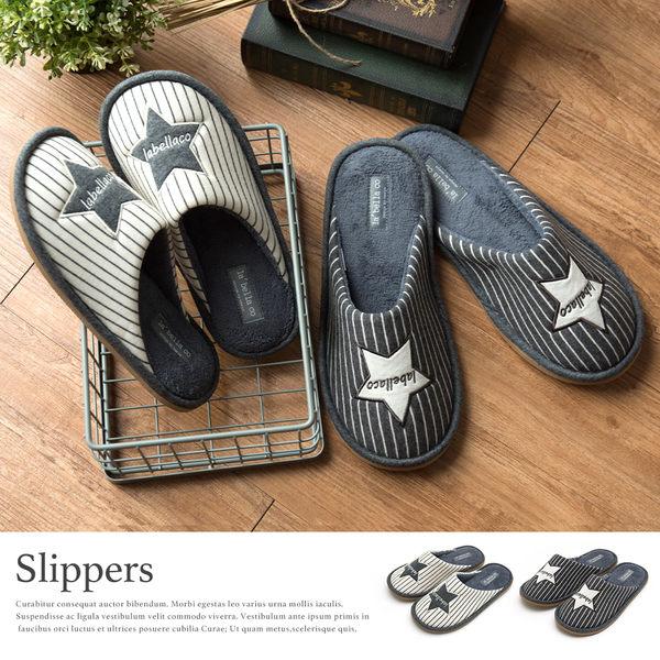 環保拖鞋 室內拖鞋【A0008】星星柔軟包頭拖鞋 完美主義