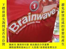 二手書博民逛書店Brainwave罕見Language Activity Book 1Y202708