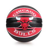 SPALDING 公牛 Bulls 籃球 (戶外 NBA 隊徽球 斯伯丁 免運 ≡體院≡