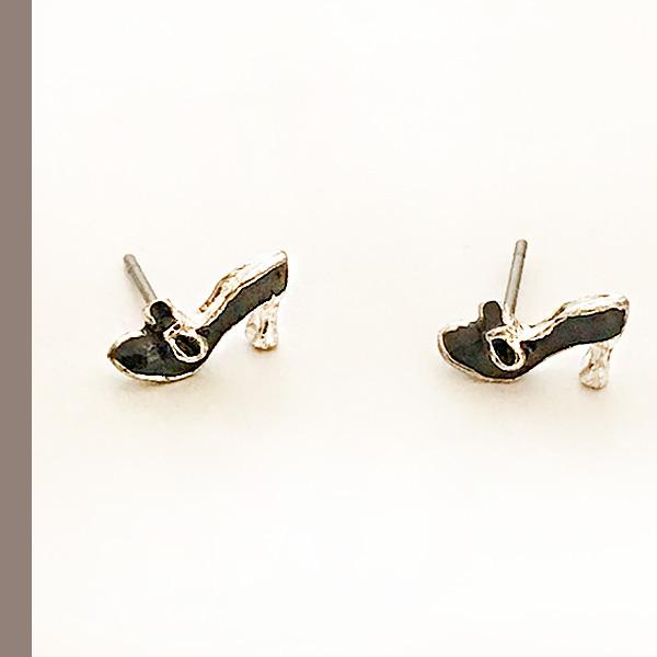 就缺這雙~蝴蝶結高跟鞋耳環716311