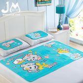 夏季降溫神器日本迪斯尼兒童 冰床墊制冷 卡通涼席墊爬行凝膠冰墊 IGO