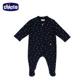 chicco-親親寶貝-星星前開長袖兔裝