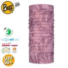 【BUFF 西班牙 COOLNET抗UV驅蟲頭巾《粉影蘭花》】125090/涼感/防蟲/圍脖/帽子/口罩/圍巾
