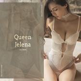 連身 Ladoore 伊蓮娜女王 極致寵愛性感連身內衣 (白)