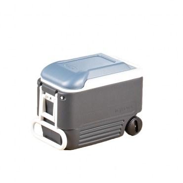 Igloo五日鮮拉提兩用冰桶40QT 藍色 美國品牌 附活動輪