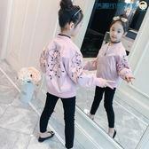 女童棒球服外套韓版薄夾克衣服