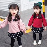嬰兒童裝3女童夏秋寶寶休閒套裝1一2歲韓版女孩洋氣夏裝4兩件套潮
