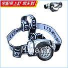 [7-11限今日299免運]四段調節14LED頭燈 頭戴式可調整角度 爆閃強光✿mina百貨✿【H004】