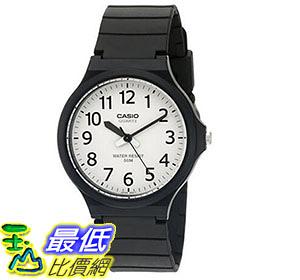 [美國直購] 手錶 Casio Men s Easy To Read Quartz Black Casual Watch MW240-7BV