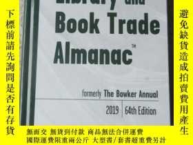 二手書博民逛書店Library罕見and Book Trade Almanac