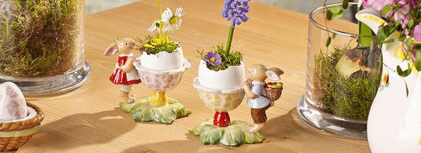 德國 V&B Spring Fantasy 春之醒 兔女郎 蛋杯  #14-8644-1952
